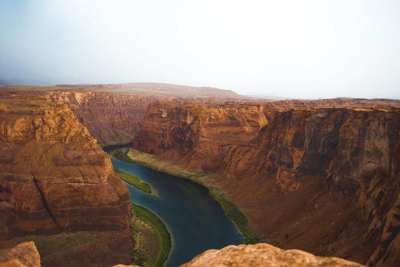 Uitzicht over de grand canyon. Sfeerbeeld bij het blog: Tijd maken voor je dromen van coach en relatietherapeut Lisette Wevers in Amsterdam